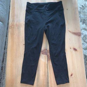 Lululemon black leggings pace rival